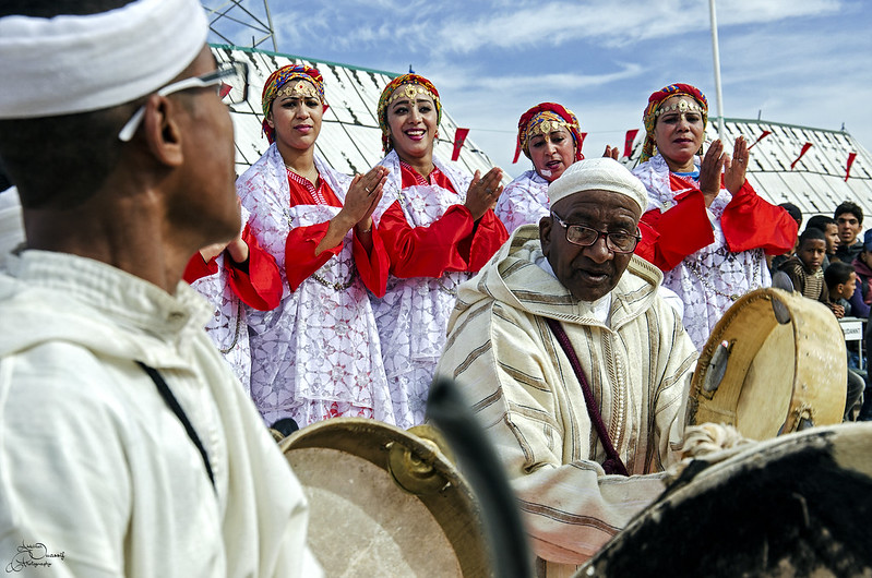 Ahwach Festival in Ouarzazate